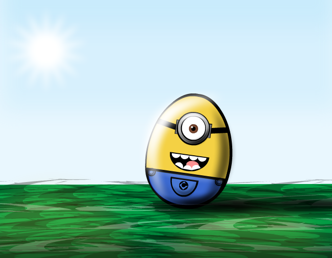Minion Easter Egg