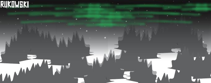 Aurora Borealis Over Carbisdale