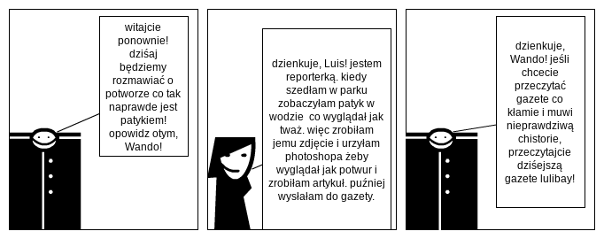 reporter Wanda
