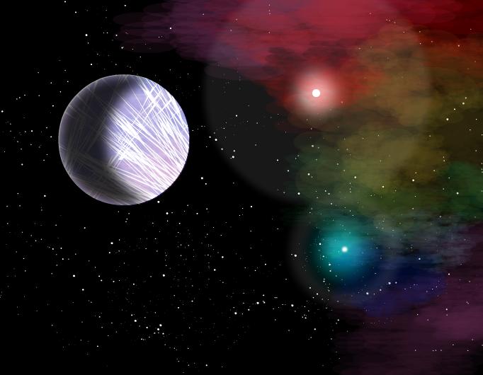 Prism and the Rainbow Nebula