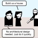 Skip the design