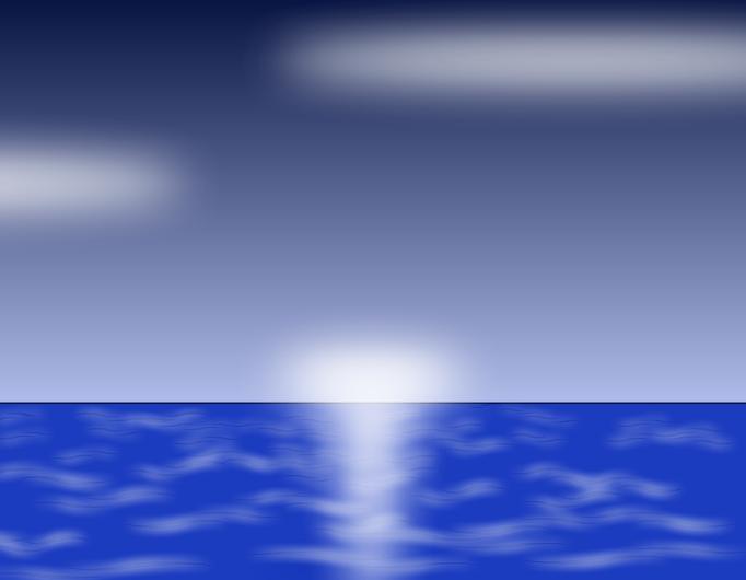 A morning at the sea