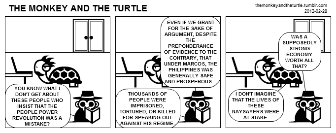 The Monkey and the Turtle (2012-02-28)