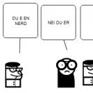 DU E DØD
