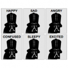Expressions of Darth Vader