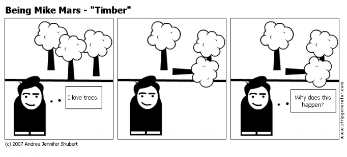 "Being Mike Mars - ""Timber"""