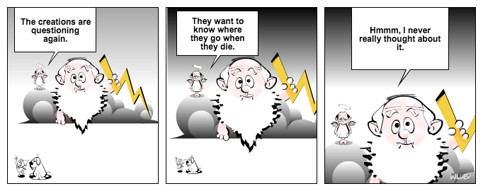 Meanwhile In Heaven...