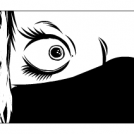 Scared Woman Warrior Sketch - Detective