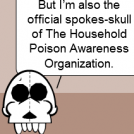 Upon the talk of the poisoning?