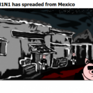 H1N1 has spreaded from Mexico