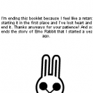 The End of Emo Rabbit