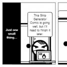 Strip Generator Says NO To Return Editing