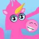 PINK FLUFFY UNICORNS DANCING ON RAINBOWS!