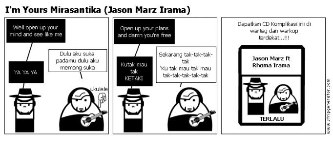 I'm Yours Mirasantika (Jason Marz Irama)
