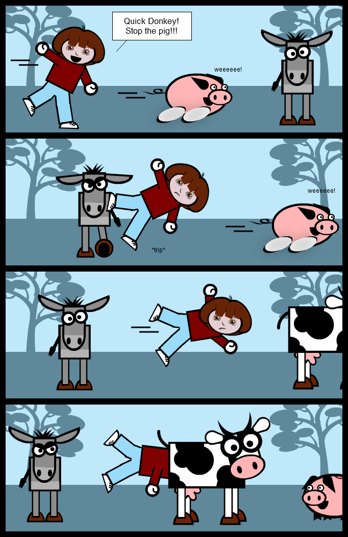 Dora explores... The farm (Cow and Co. 12)