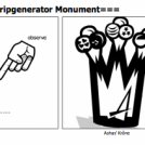 ===Stripgenerator Monument===