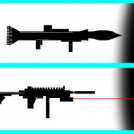 Rocket Launcher and SMG