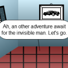 The adventure of the invisible man !
