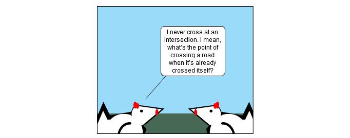 A Cross Shtick