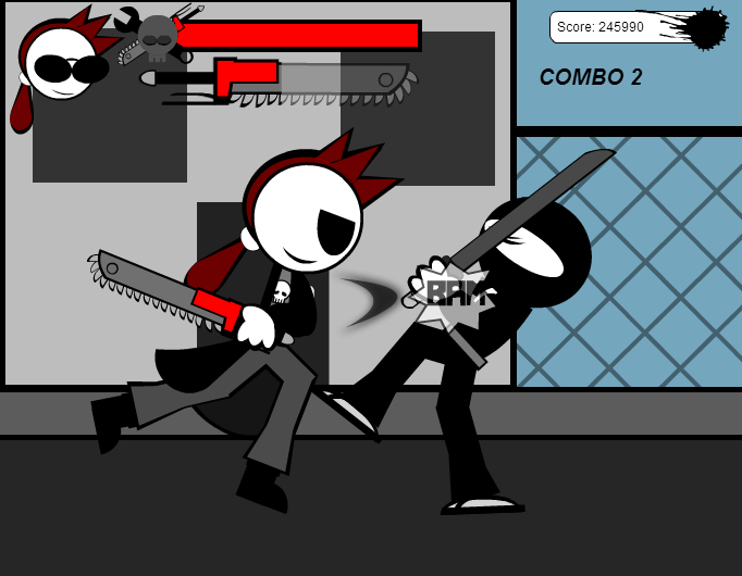 If Sg was a true game: Rude in Beat 'em Up.