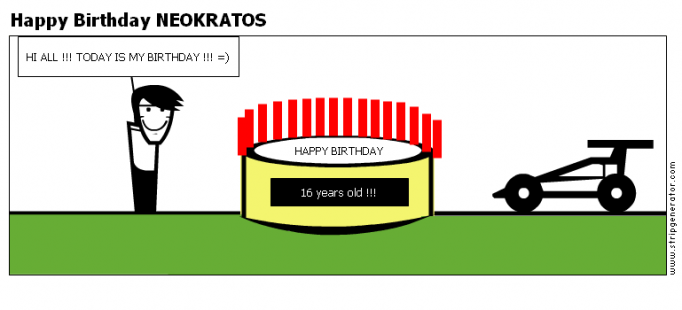 Happy Birthday NEOKRATOS