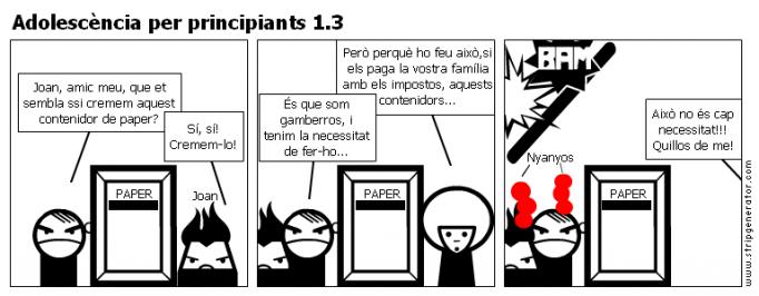 Adolescència per principiants 1.3