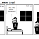 The Kneighborhood...snow days?