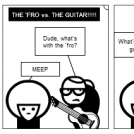 THE 'FRO vs. THE GUITAR!!!!!