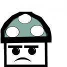 Angry 1-Up Mushroom