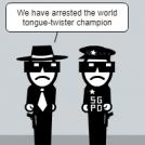 Police strip remake