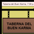 En la Taberna del Buen Karma