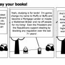 Hey Kids, throw away your books!