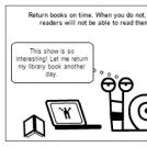 return library books