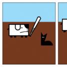 Jak najdzie ochota to i pies kota wyłomota