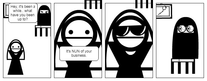 Nun comic