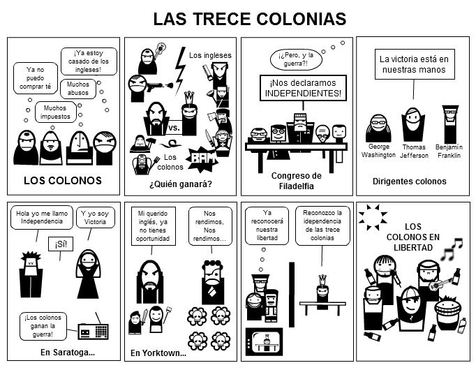 Las Trece Colonias