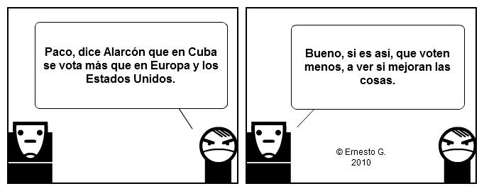 Paco y Poco sobre las elecciones en Cuba