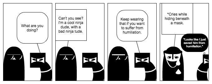 Ninja Humiliation