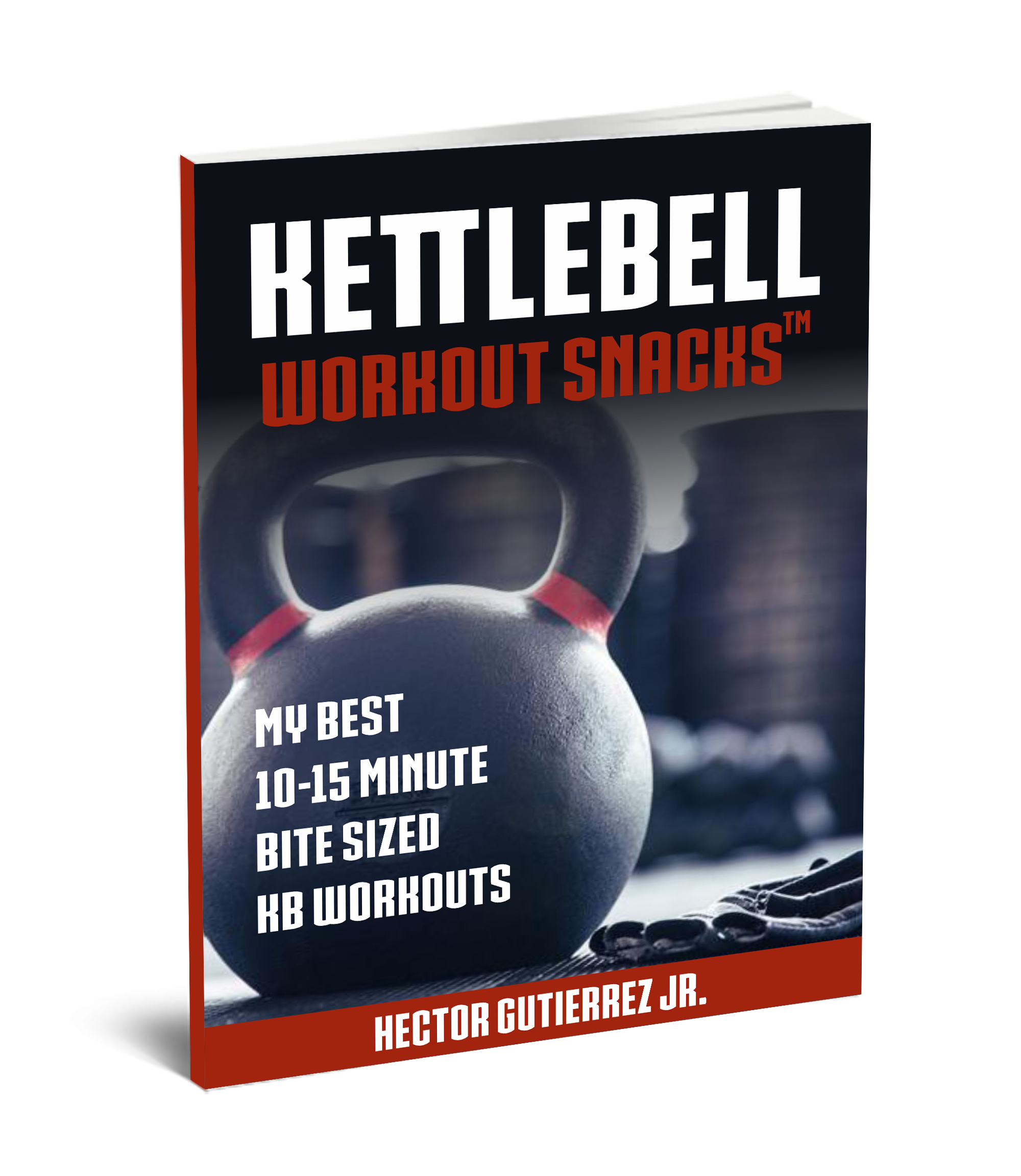 Kettlebell workout snacks, single and double kettlebell workouts