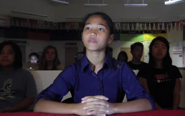 Middle School Presidential Debate