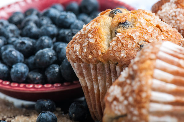 Gluten-Free Recipe: Blueberry Corn Muffins