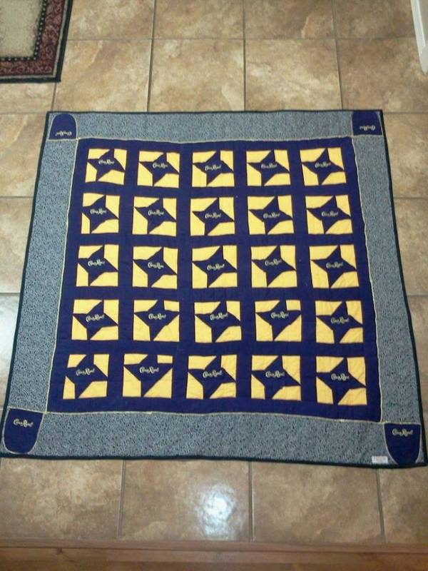 These Recycled Crown Royal Bags Turned Into Some Beautiful Quilts ... : crown royal bag quilt - Adamdwight.com