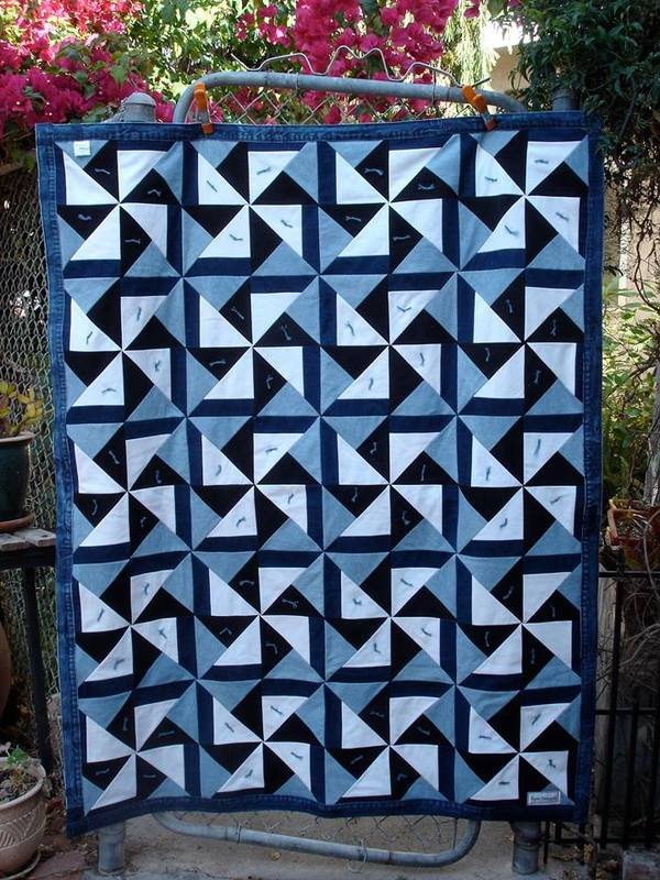Recycled Material Can Turn Into The Most Beautiful Quilts 24 Blocks