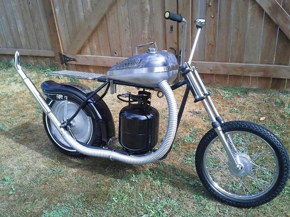 chopper-q bbq motorcycle