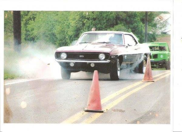 car at race