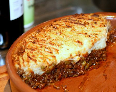 Hearty Main Course: English Shepherd's Pie