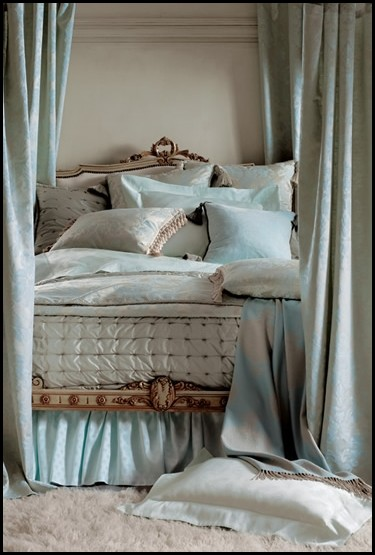 French fancy bed