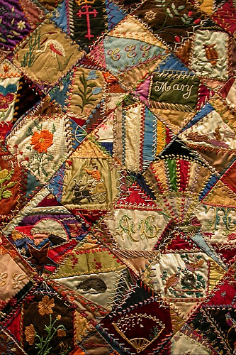 Quilting History: American 'Crazy Quilts' – 24 Blocks : crazy quilt pictures - Adamdwight.com