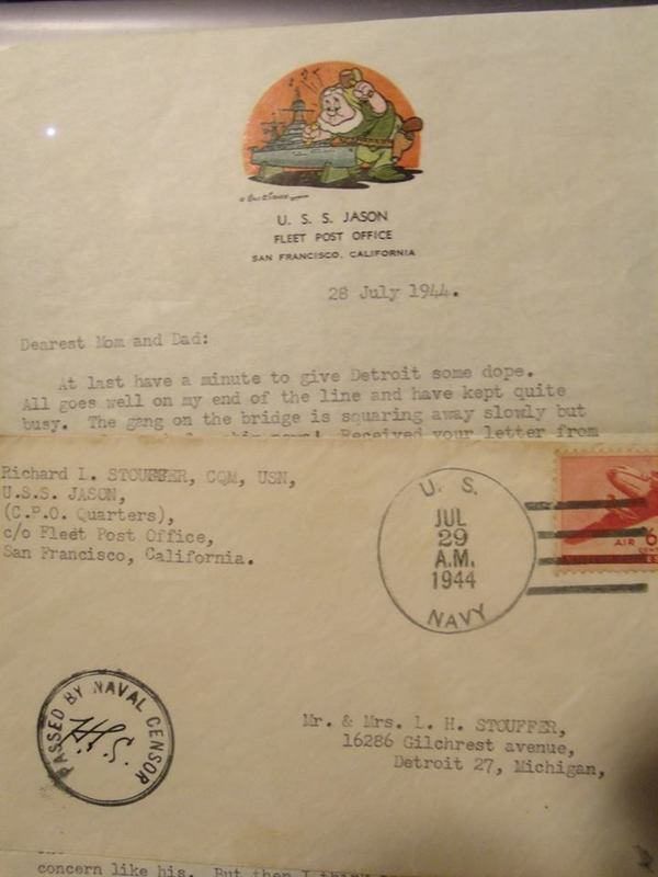 military letter antique