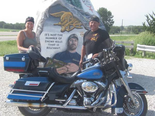 long motorcycle ride